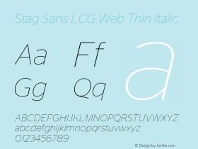 Stag Sans LCG Web