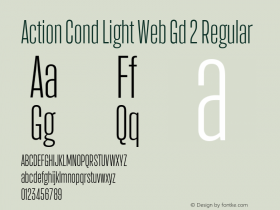 Action Cond Light Web Gd 2