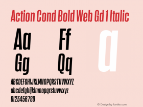 Action Cond Bold Web Gd 1