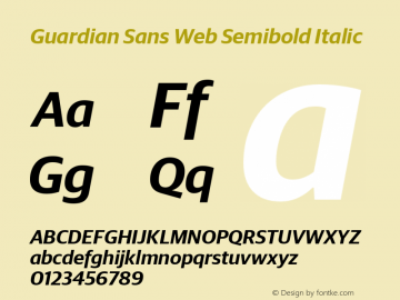 Guardian Sans Web Semibold