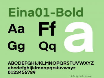 Eina01-Bold