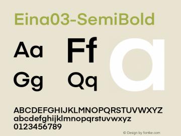 Eina03-SemiBold