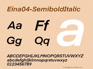 Eina04-SemiboldItalic
