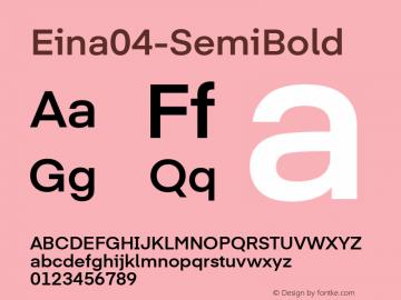 Eina04-SemiBold