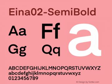 Eina02-SemiBold