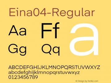 Eina04-Regular