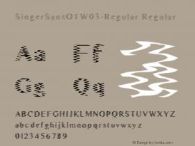 SingerSansOT-Regular