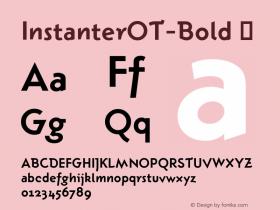 InstanterOT-Bold