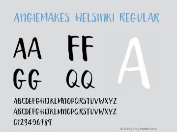 AngieMakes Helsinki