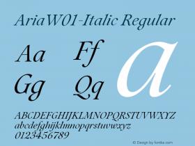 Aria-Italic