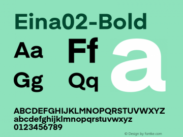 Eina02-Bold