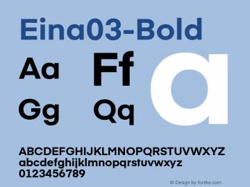 Eina03-Bold