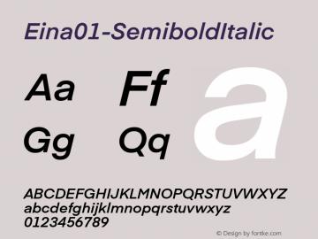 Eina01-SemiboldItalic