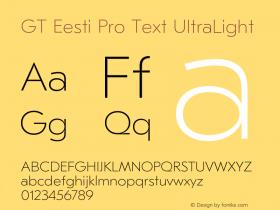 GT Eesti Pro Text
