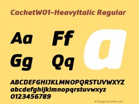 Cachet-HeavyItalic