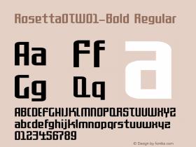 RosettaOT-Bold