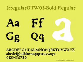 IrregularOT-Bold