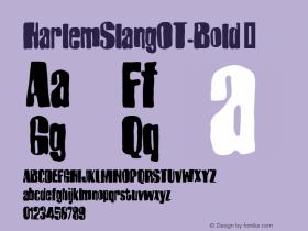 HarlemSlangOT-Bold