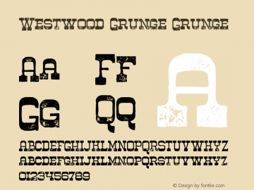 Westwood Grunge