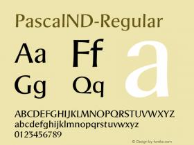 PascalND-Regular