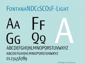 FontanaNDCcSCOsF-Light