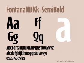 FontanaNDKk-SemiBold