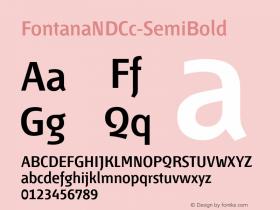 FontanaNDCc-SemiBold