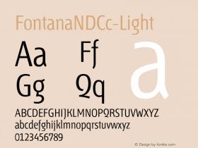 FontanaNDCc-Light