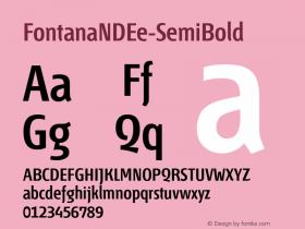 FontanaNDEe-SemiBold