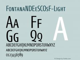 FontanaNDEeSCOsF-Light
