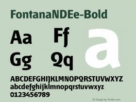 FontanaNDEe-Bold