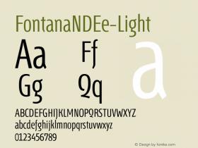 FontanaNDEe-Light
