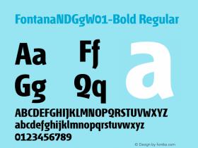 FontanaNDGg-Bold