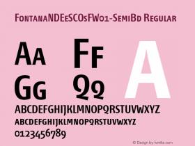 FontanaNDEeSCOsF-SemiBd