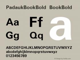 PadaukBookBold