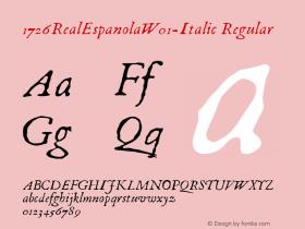 1726RealEspanola-Italic