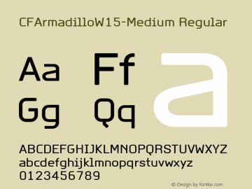 CFArmadillo-Medium