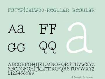 FGTypical-Regular