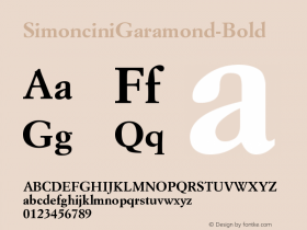 SimonciniGaramond-Bold