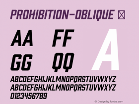 Prohibition-Oblique