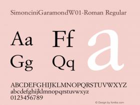 SimonciniGaramond-Roman