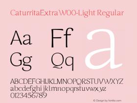 CaturritaExtra-Light