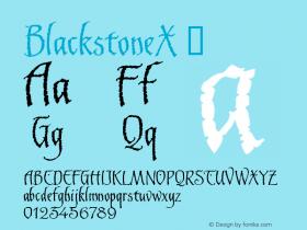 BlackstoneX