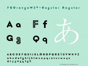 FBOrange-Regular