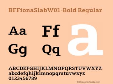 BFFionaSlab-Bold