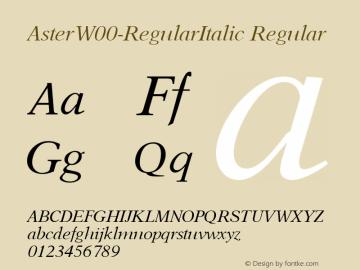 Aster-RegularItalic