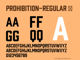 Prohibition-Regular