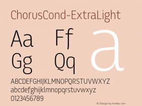 ChorusCond-ExtraLight