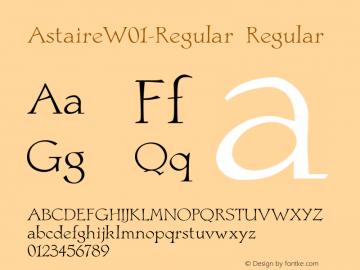 Astaire-Regular
