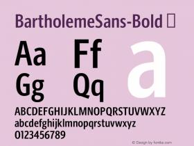 BartholemeSans-Bold